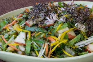 Healthy Salad, mixed with many kinds of fruits&vegetable